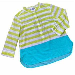JC Penny | Striped Front Pocket Beach Top